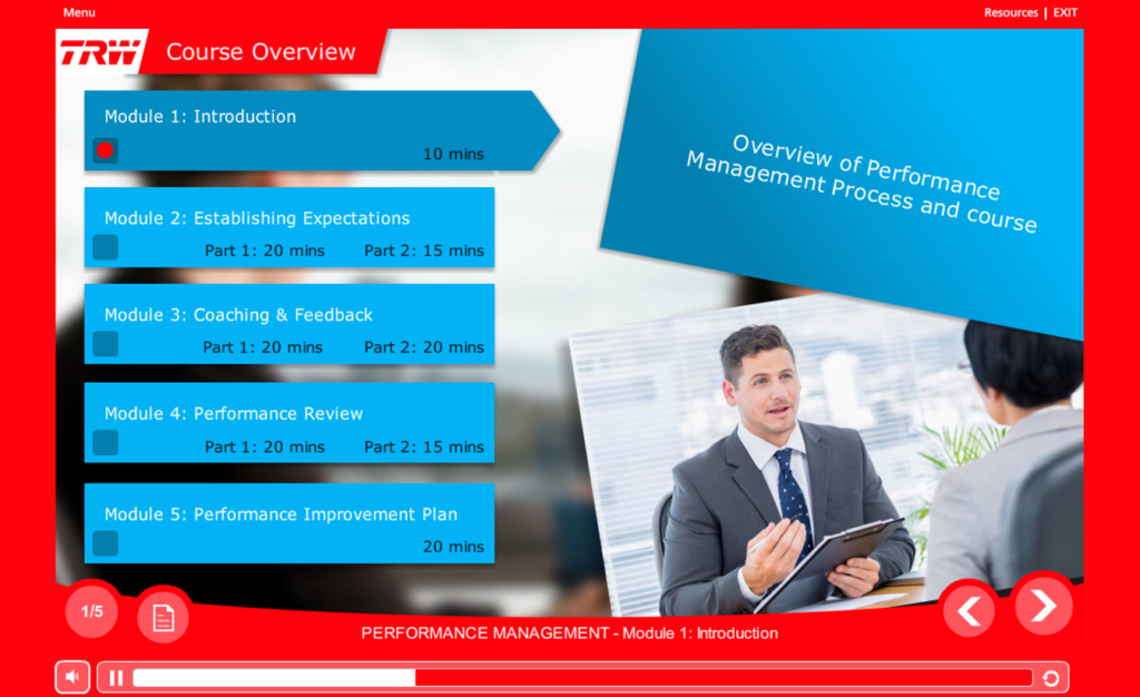 HR Policy Training